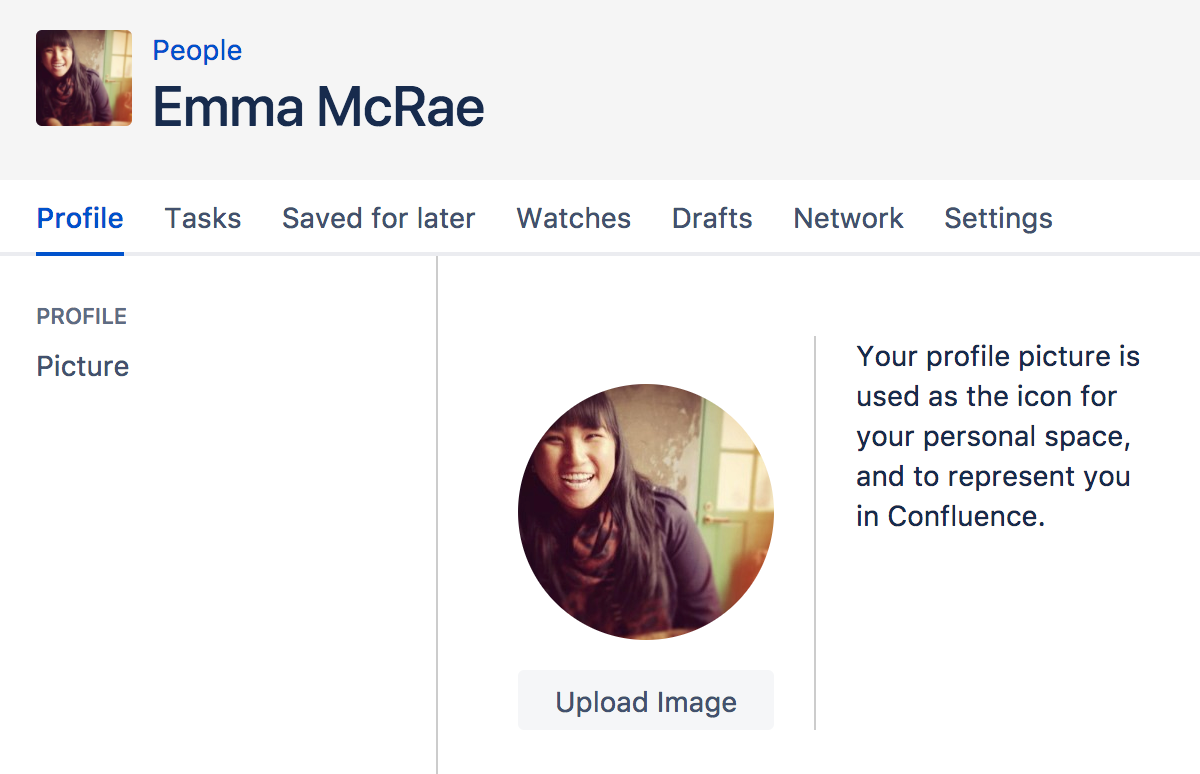 Set your profile picture atlassian documentation screenshot choosing a profile picture malvernweather