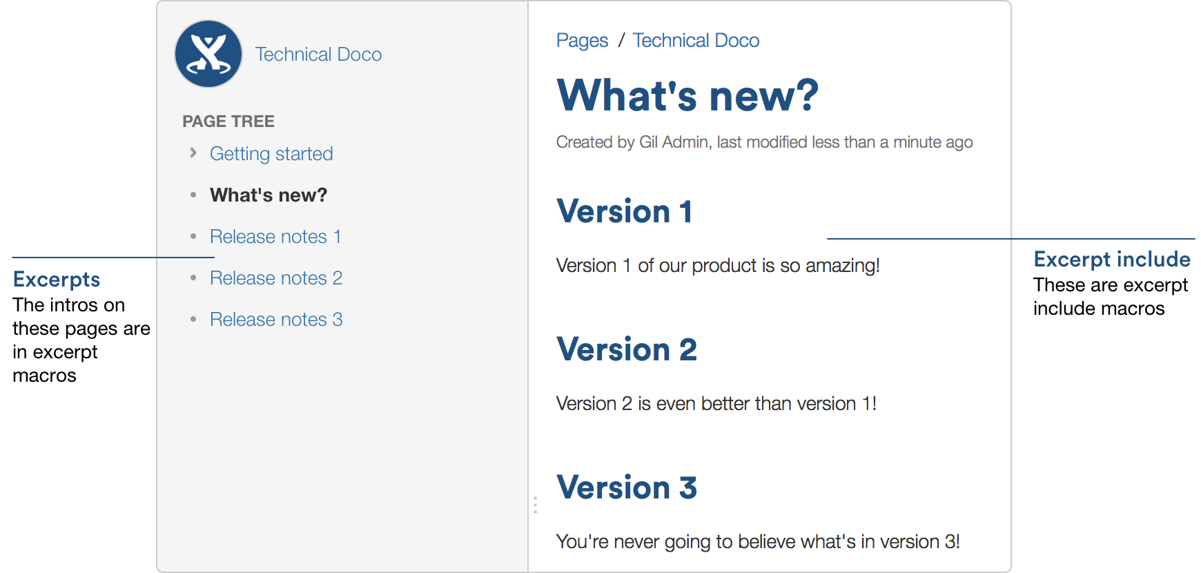 Develop Technical Documentation in Confluence Atlassian – Release Notes Template