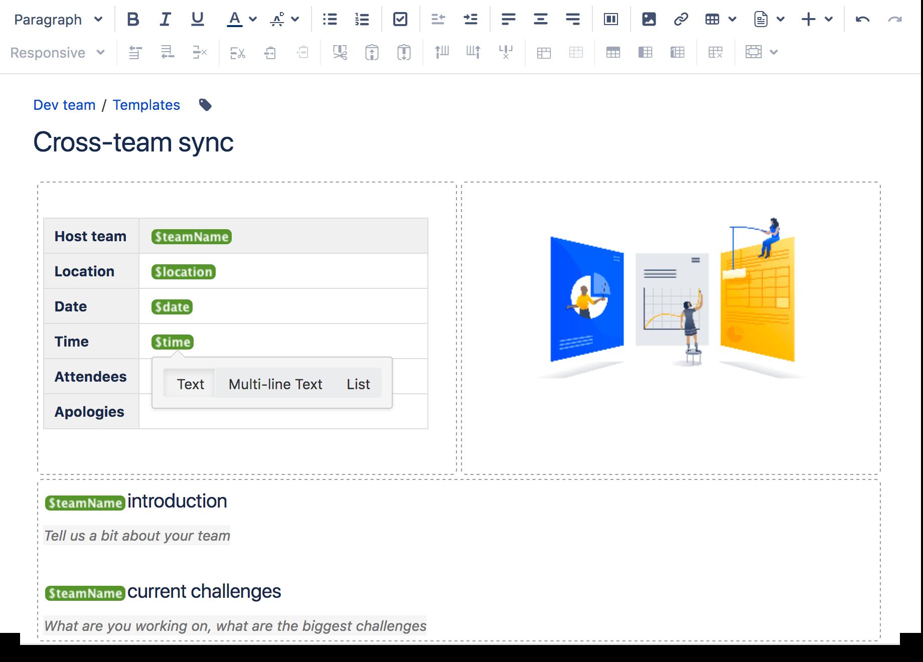 Create a Template - Atlassian Documentation