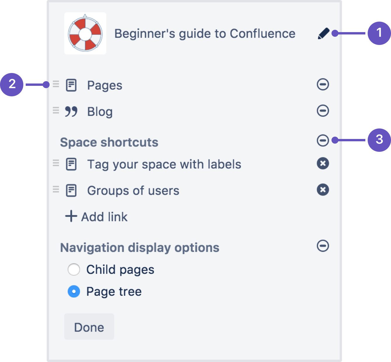 Configure the Sidebar - Atlassian Documentation