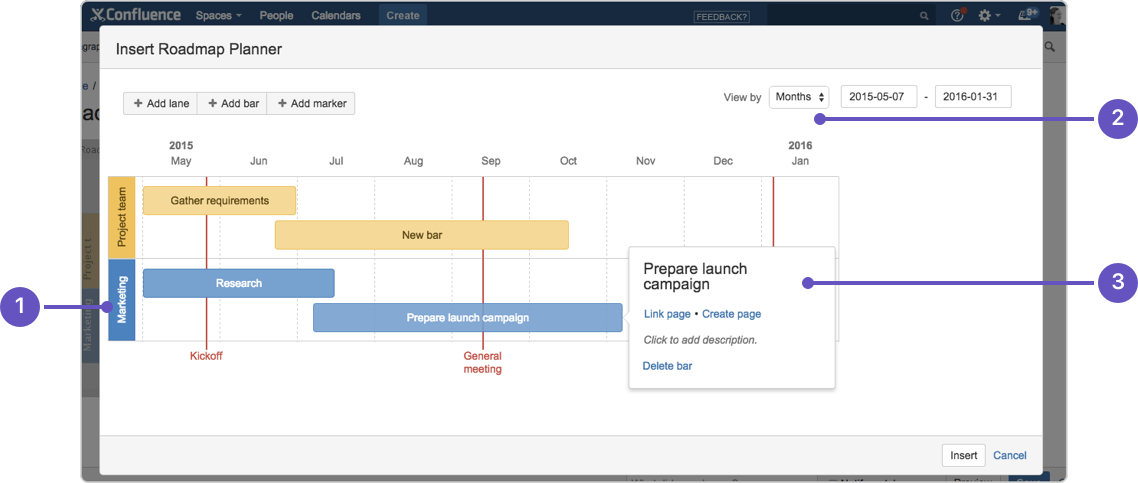 Roadmap Planner Macro - Atlassian Documentation