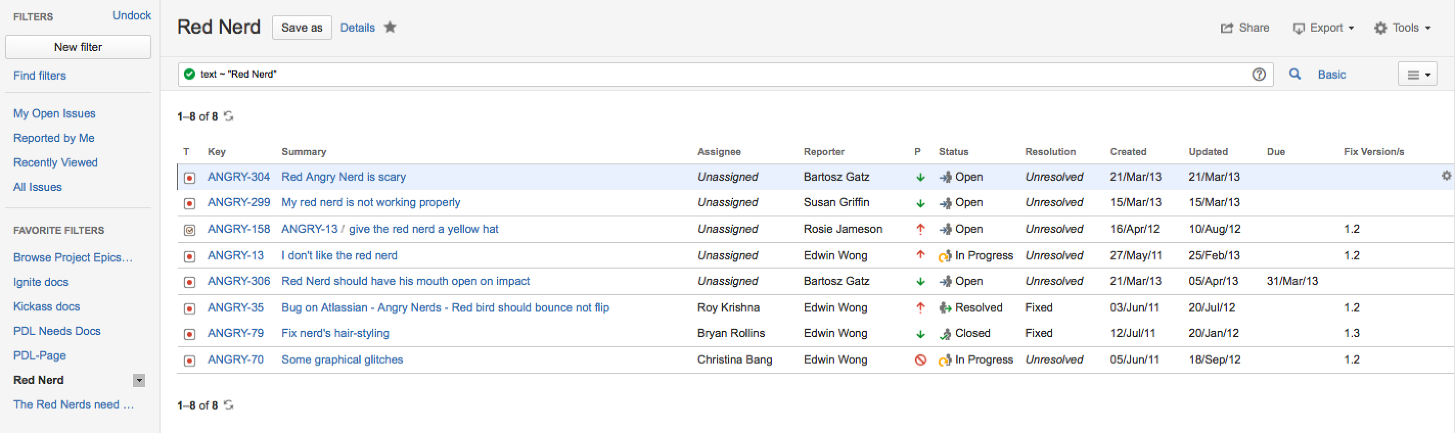 Use Confluence's REST API to search for page content