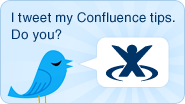 Tips via Twitter for Confluence enterprise wiki