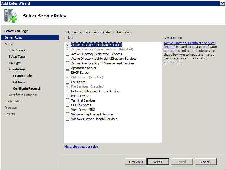 configuring an ssl certificate for microsoft active directory
