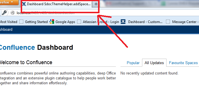 Browser Title Shows $docThemeHelper Instead of The Page ...