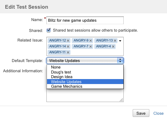 Working With Sessions  Capture For Jira  Atlassian Documentation