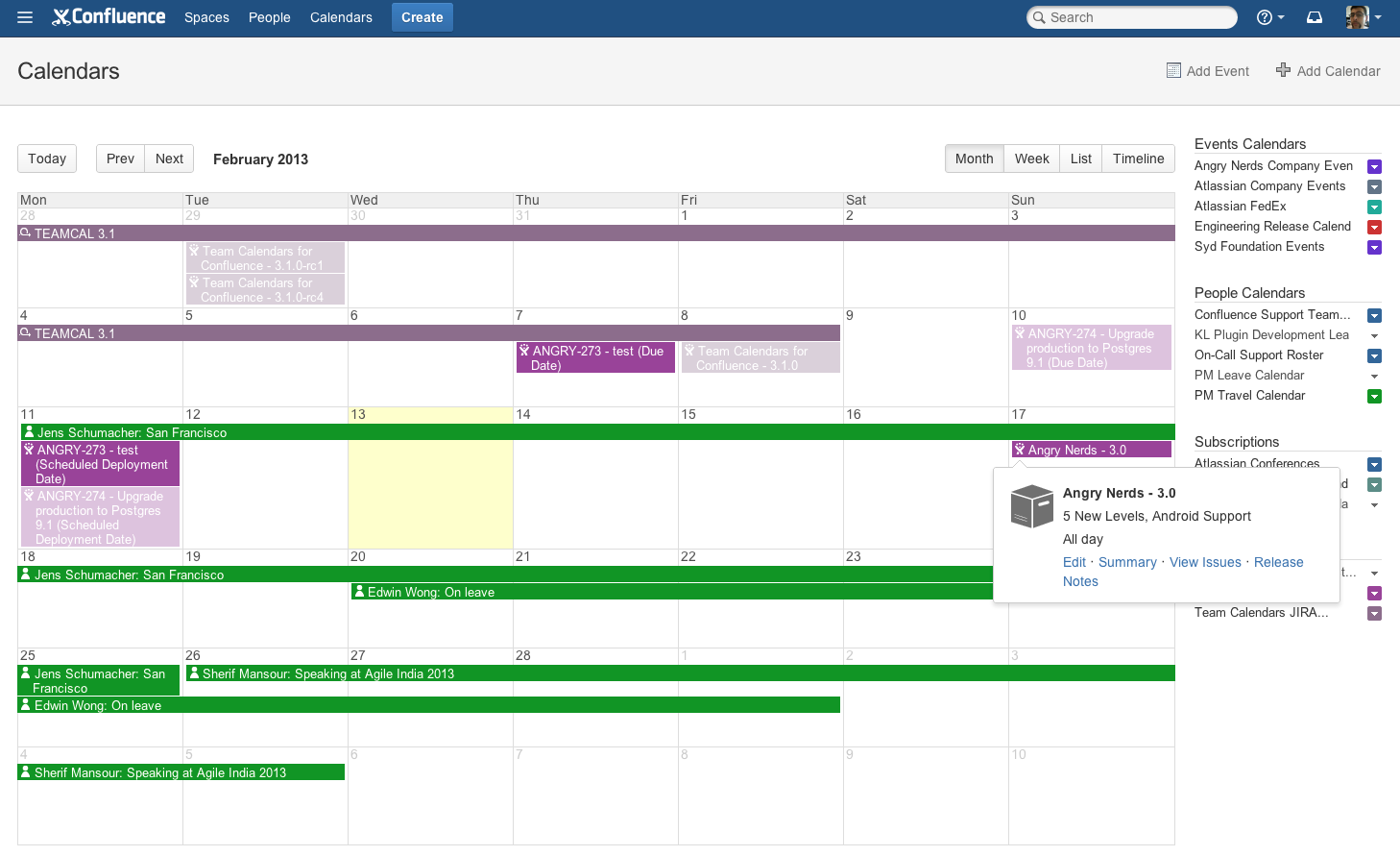 Team Calendars 3.1 Release Notes - Team Calendars 3.2 and earlier ...