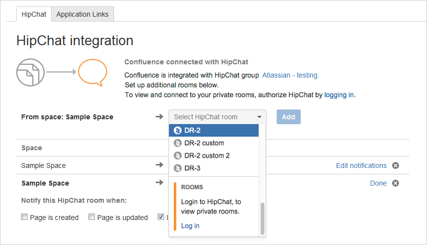 Jira Hipchat Integration Private Room