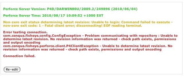 Fatal client error disconnecting! EOF reading terminal