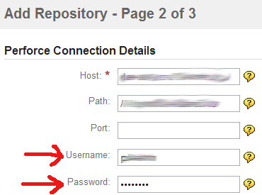 Perforce repository cannot be added - Atlassian Documentation