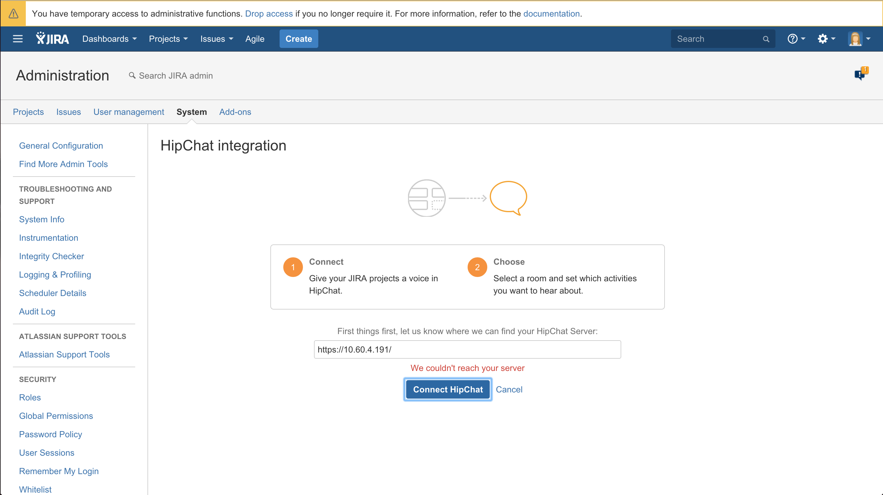 Cannot integrate hipchat server with confluence or jira with problem 1betcityfo Gallery