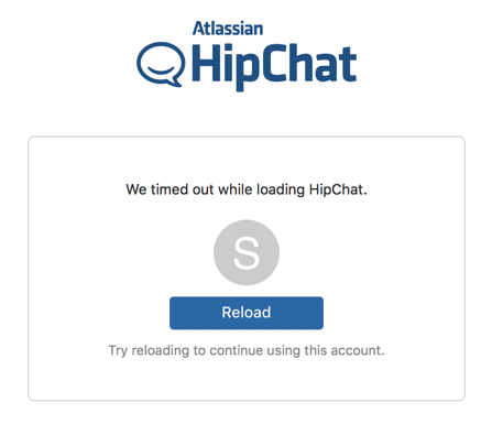Hipchat clients unable to connect to Hipchat Server: Couldn't load
