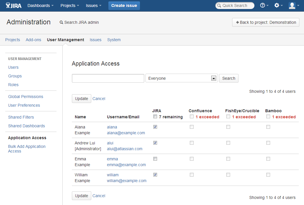 JIRA User's Guide - GRANTSGOV