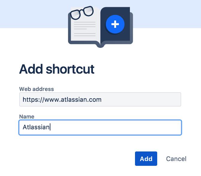 project shortcuts atlassian documentation
