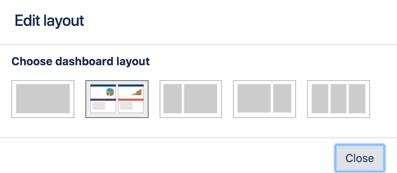 Edit layout view.