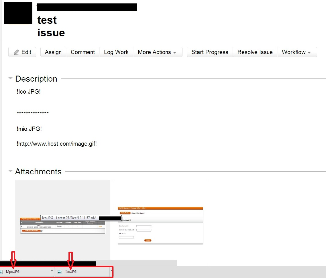wiki markup does not work in text or comment field atlassian