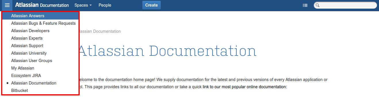 Removing Application Navigator entry from Database - Atlassian
