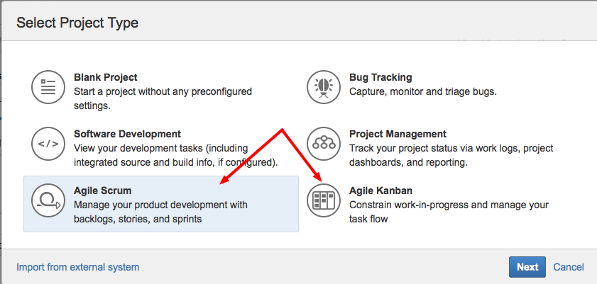 Exception is thrown when creating projects based on JIRA Agile ...
