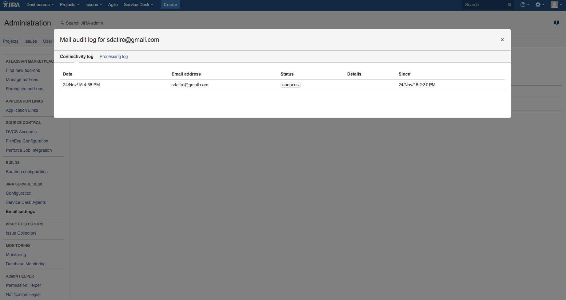 Troubleshooting JIRA Service Desk Incoming Mail - Atlassian