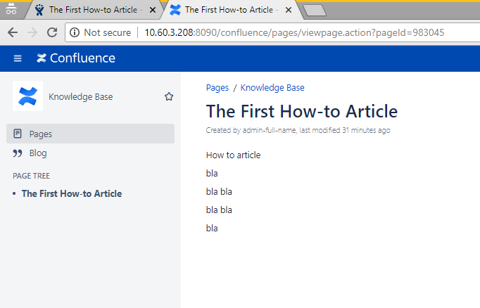 Guide to link Knowledge Base to JIRA Service Desk for