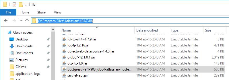 PostgreSQL: