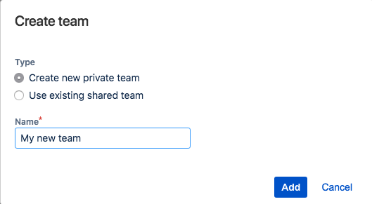 Adding and removing teams and team members - Atlassian Documentation