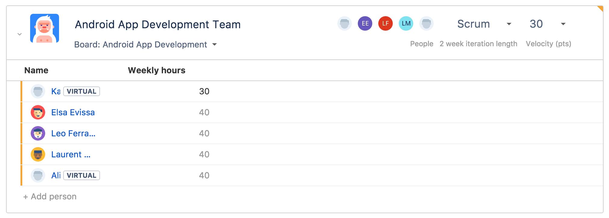 configuring team settings atlassian documentation