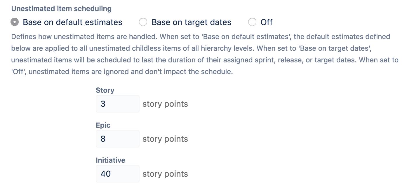 defining an estimate method conversion factor atlassian documentation