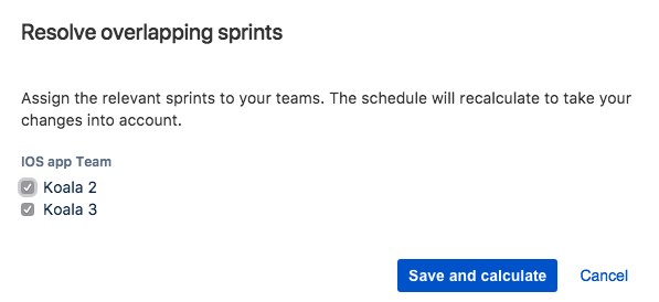 Resolving parallel sprint conflicts - Atlassian Documentation