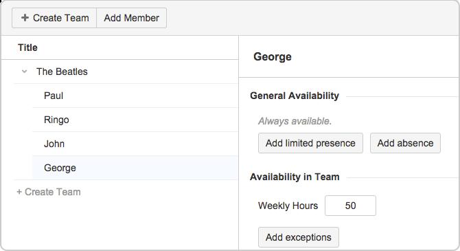 work availability
