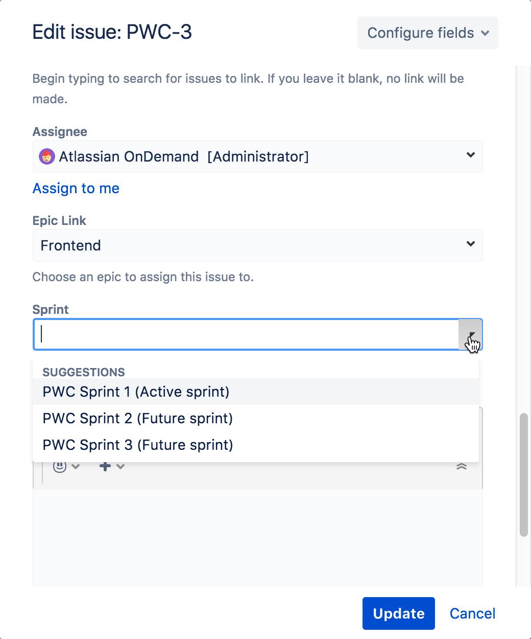 Planning sprints - Atlassian Documentation