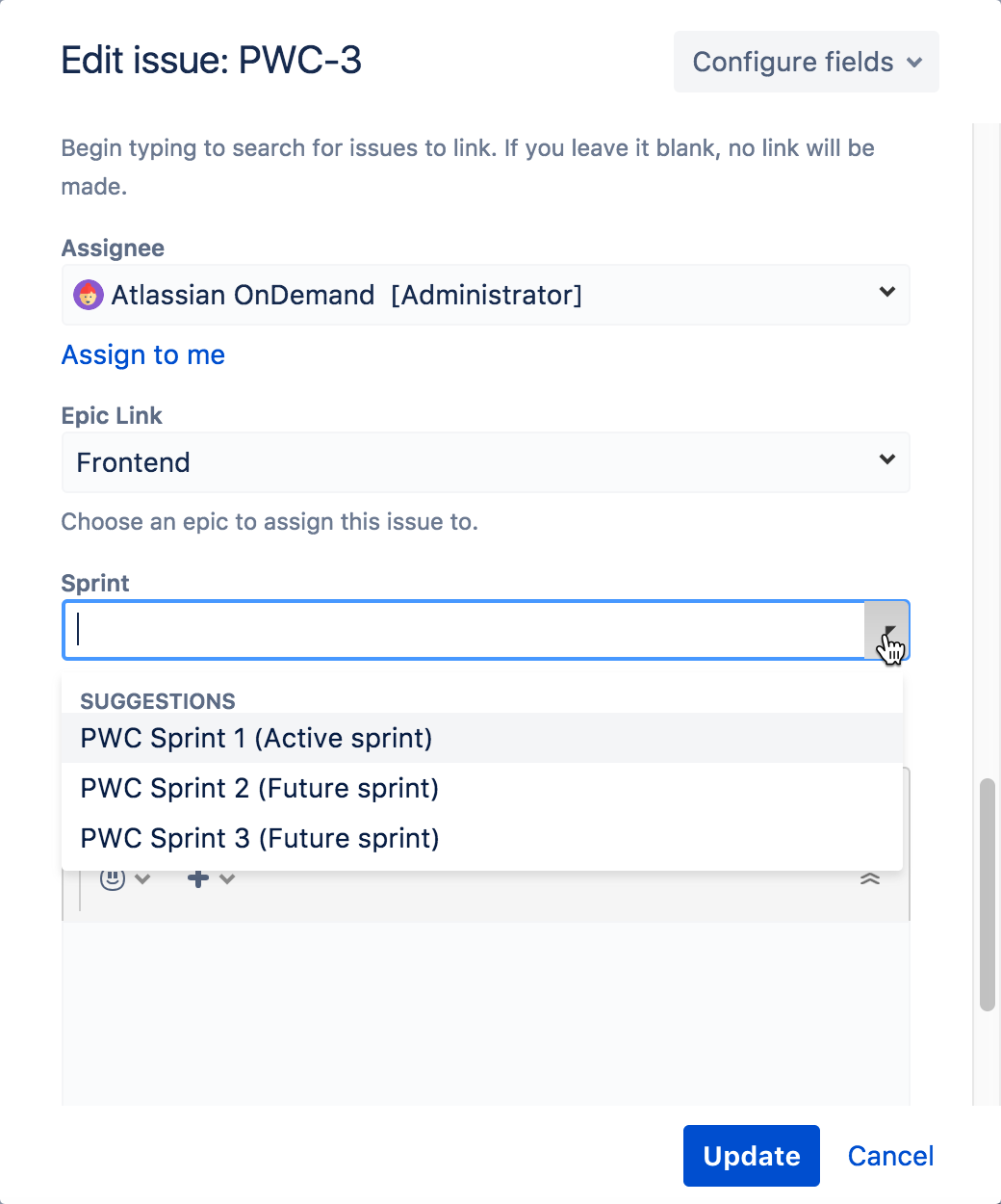 Sprint Cloud Binder By Sprint: Atlassian Documentation