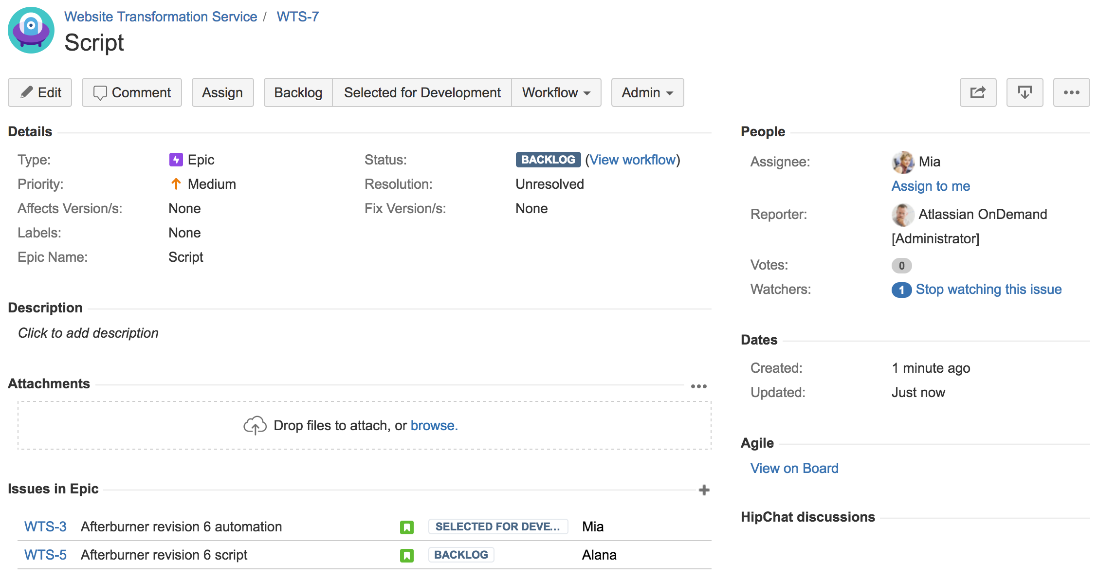 Managing epics in a kanban project atlassian documentation managing epics with the kanban backlog hexwebz Choice Image