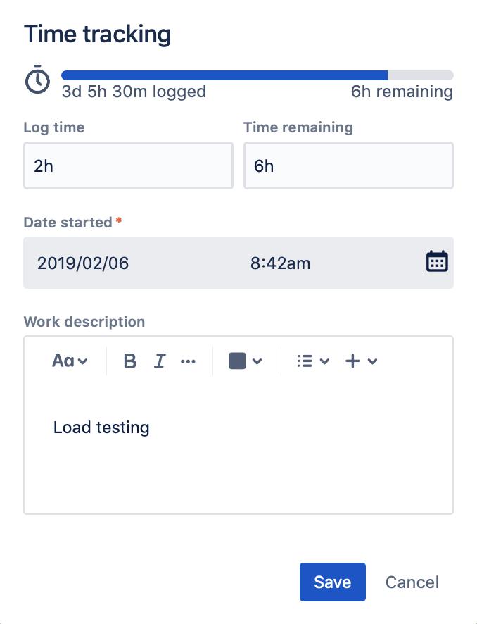 Estimating an issue - Atlassian Documentation