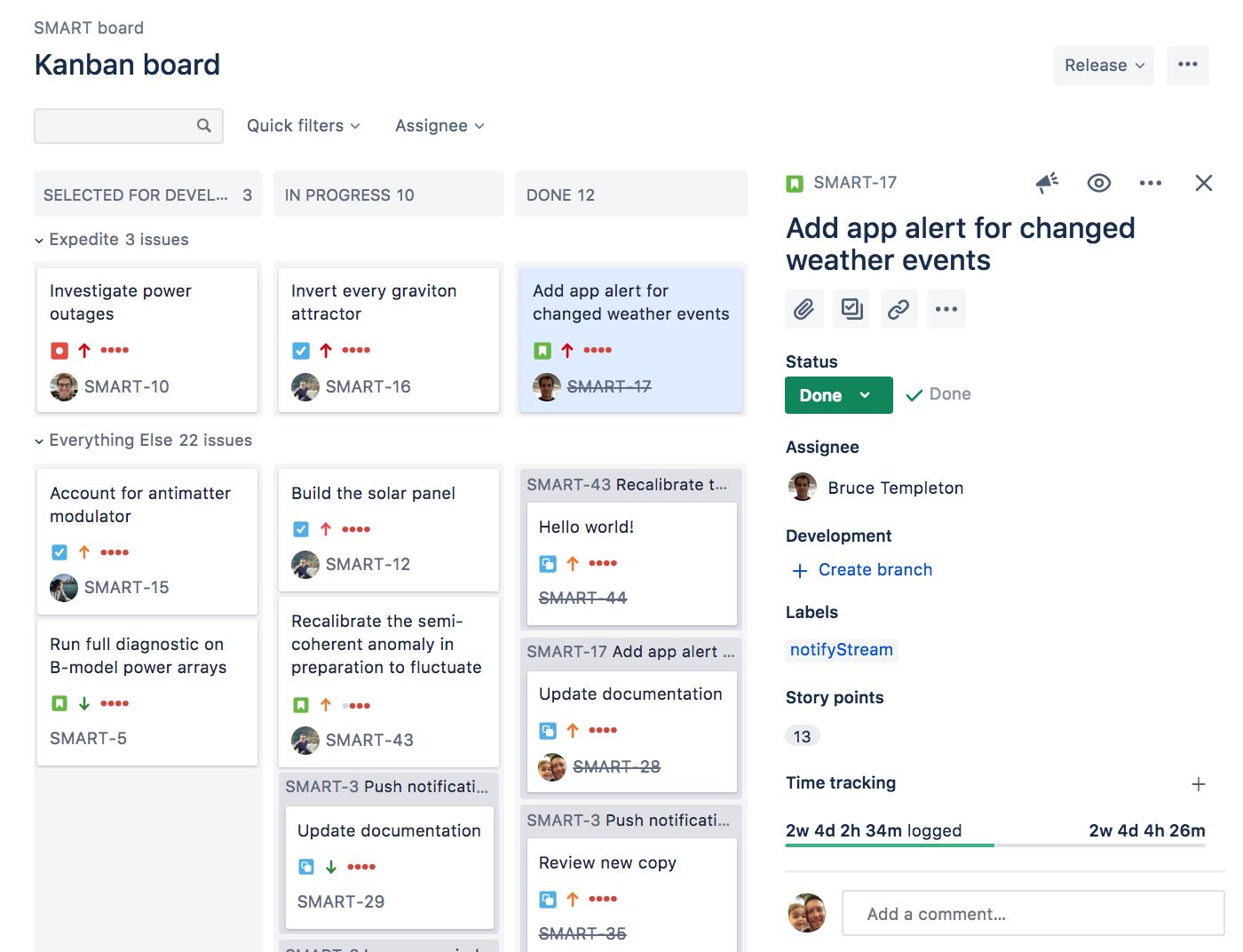 Configuring a board - Atlassian Documentation