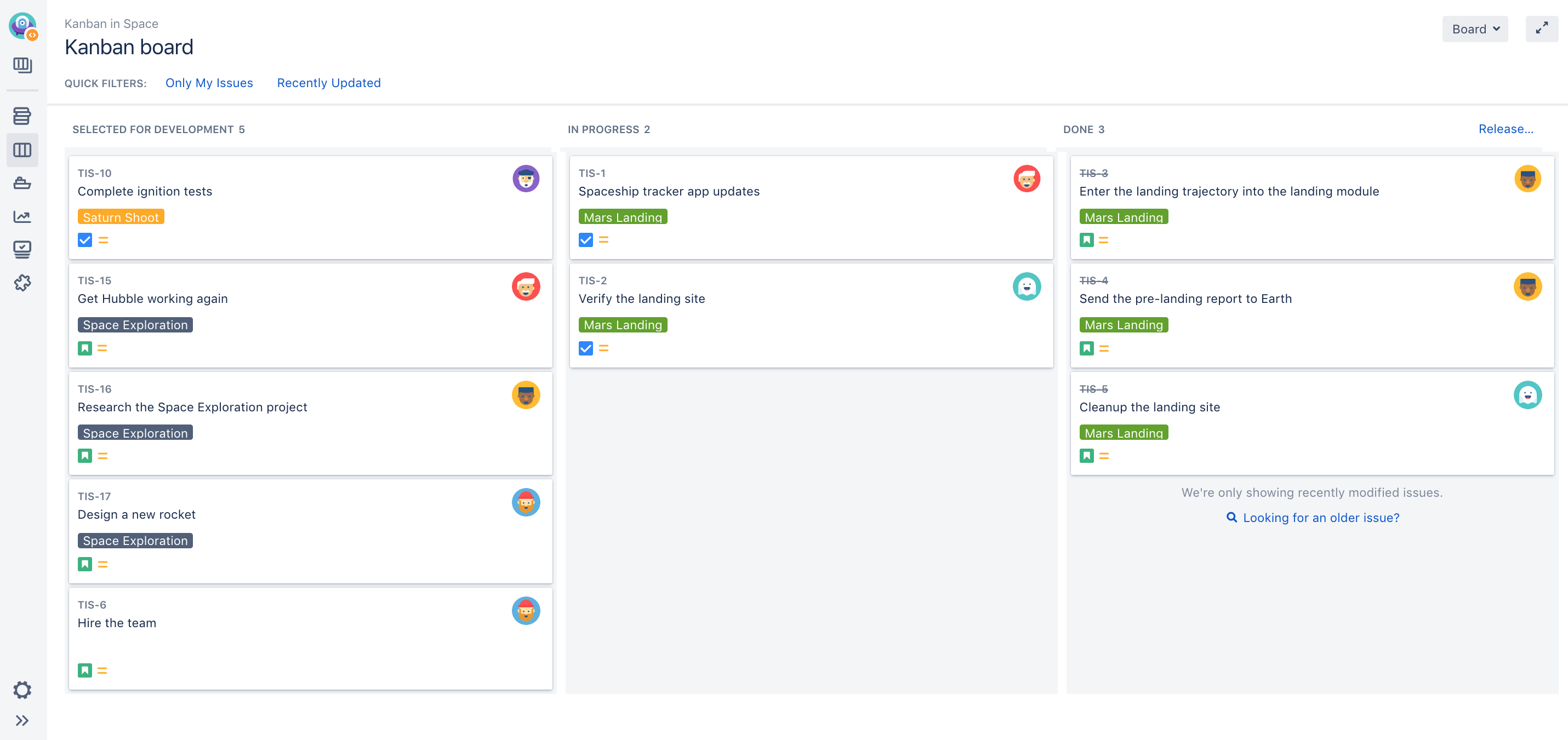 Monitoring Work In A Kanban Project Atlassian Documentation