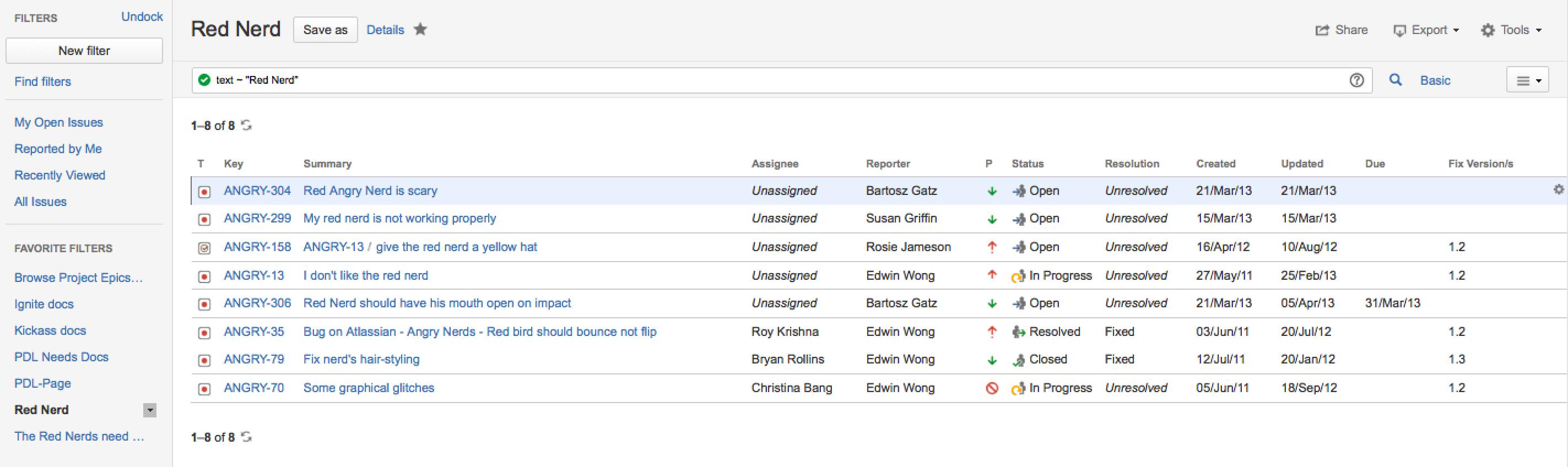 6ef52626dfd Advanced searching - Atlassian Documentation