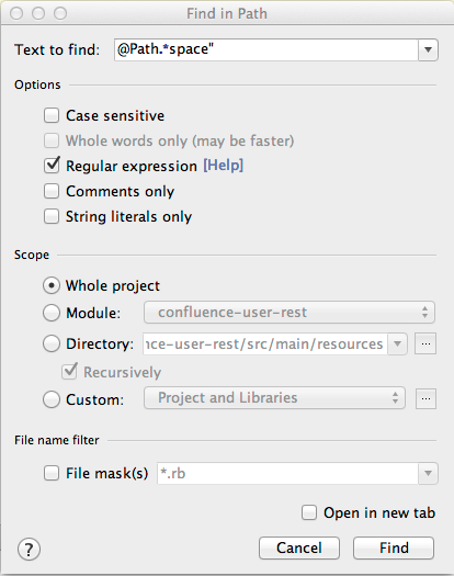 Mapping Web Resources to Code - Atlassian Documentation