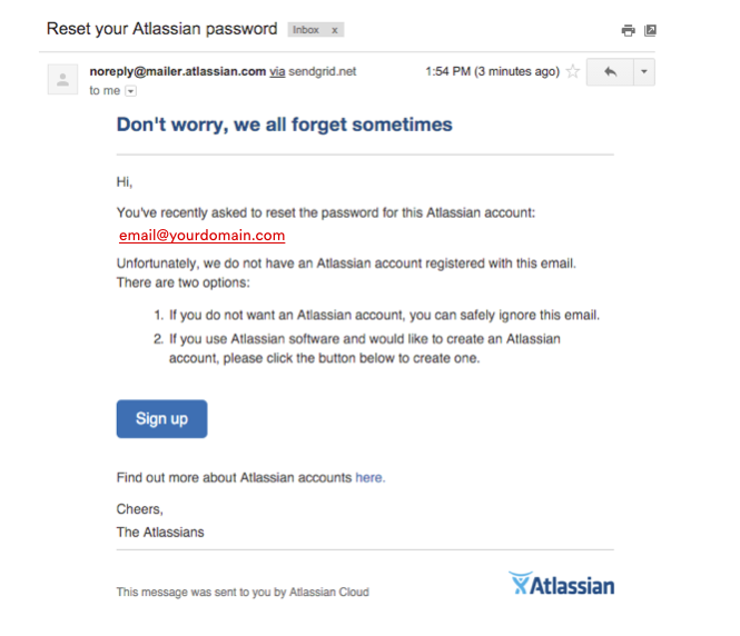 Atlassian login issues - Atlassian Documentation