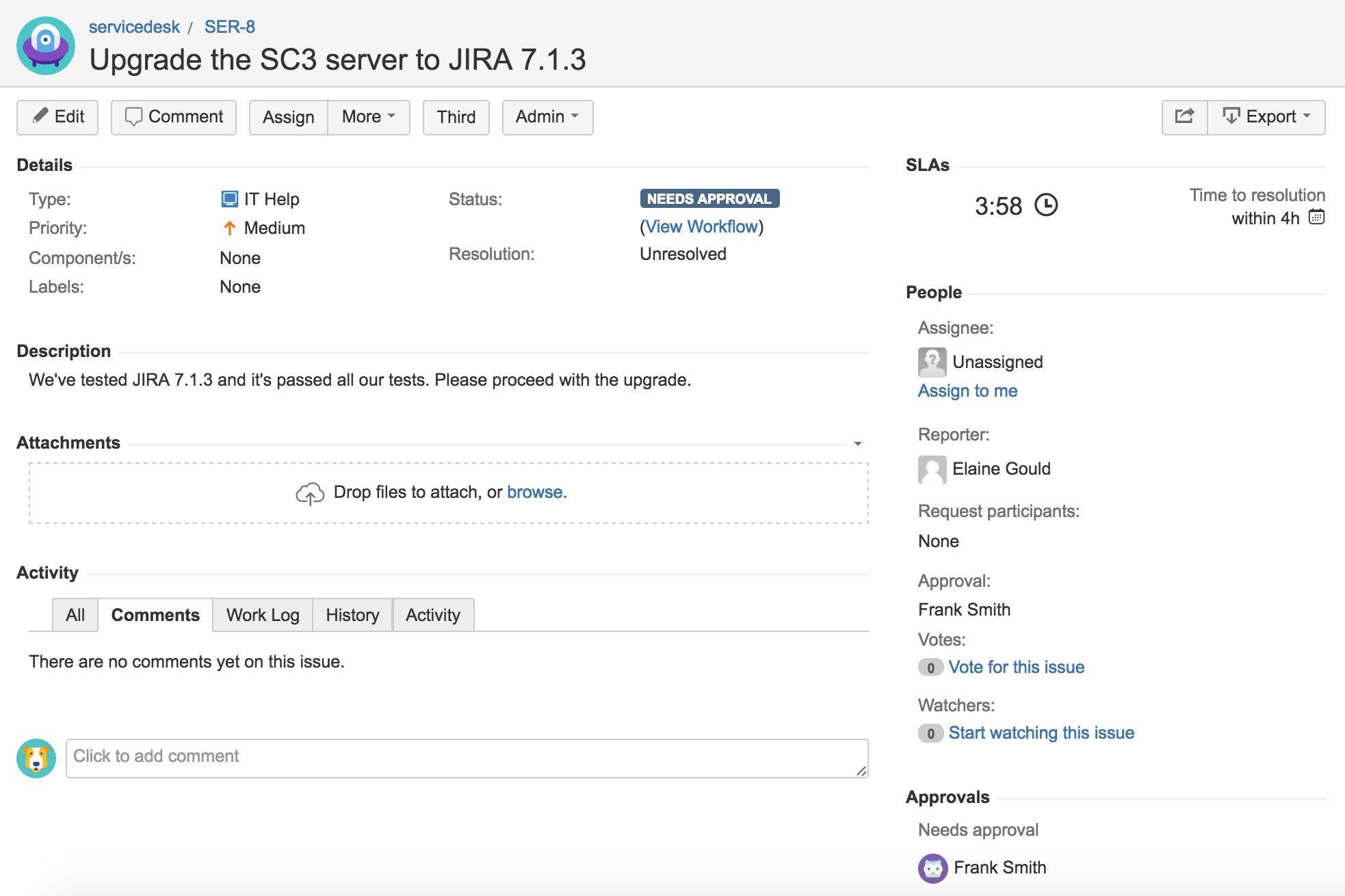 Setting up approvals - Atlassian Documentation