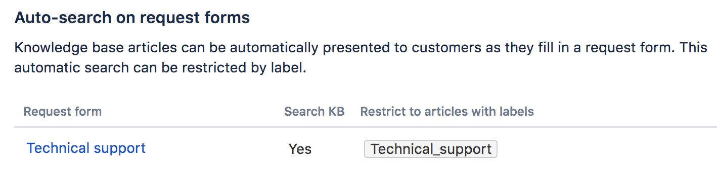 製品でのリクエスト タイプでの自動検索の画像