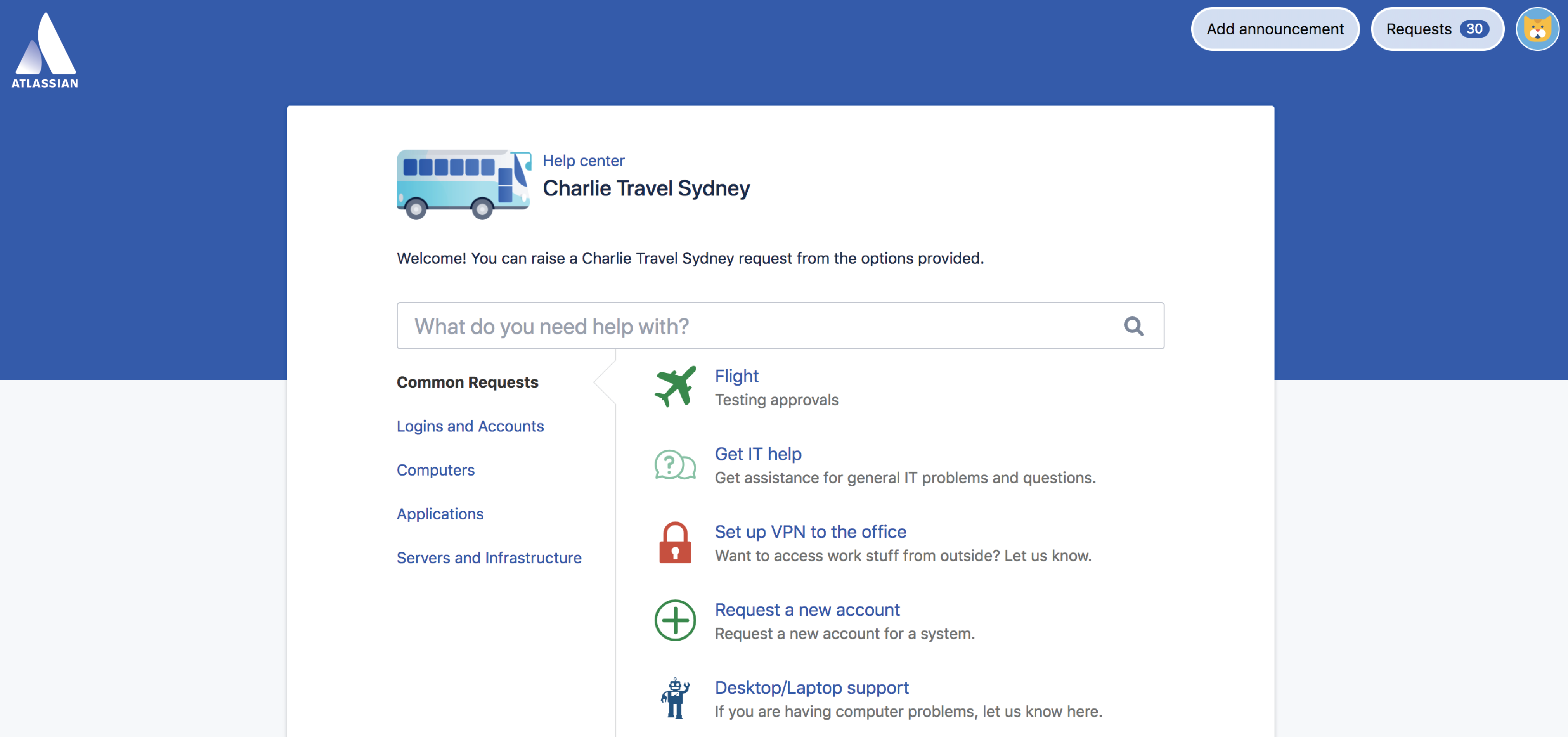 Setting up request types - Atlassian Documentation