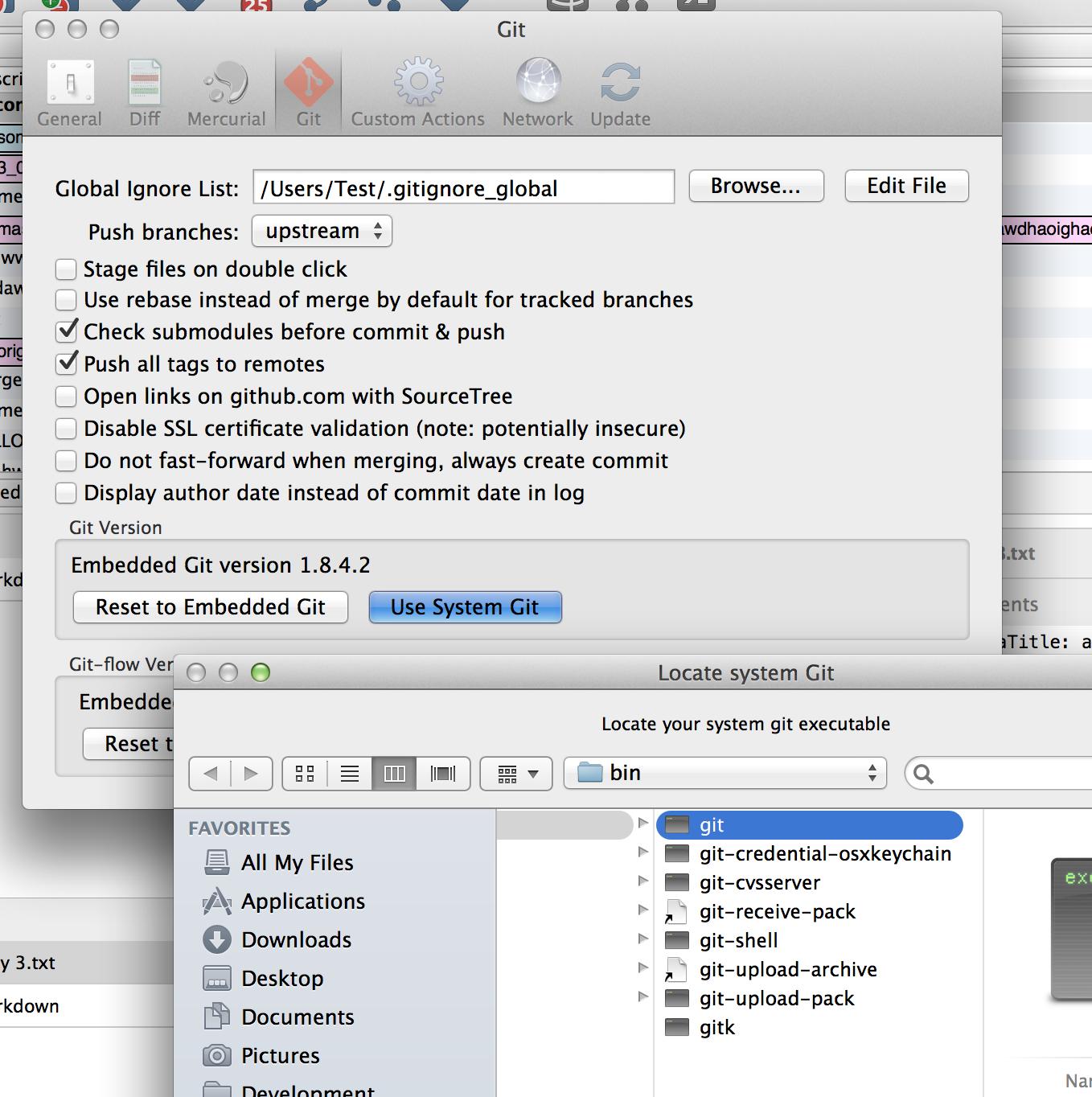 Upgrading Git/Mercurial in SourceTree for Mac - Atlassian