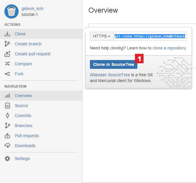Clone a repository into SourceTree - Atlassian Documentation