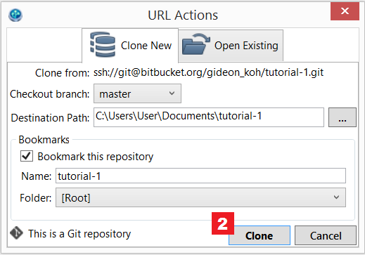Clone a repository into SourceTree - Atlassian Documentation