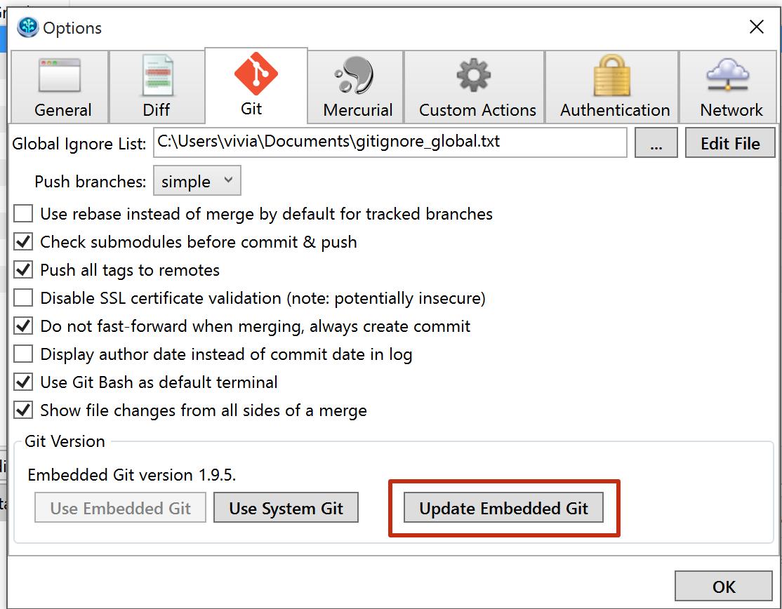 Using Embedded Git or System Git in SourceTree - Atlassian