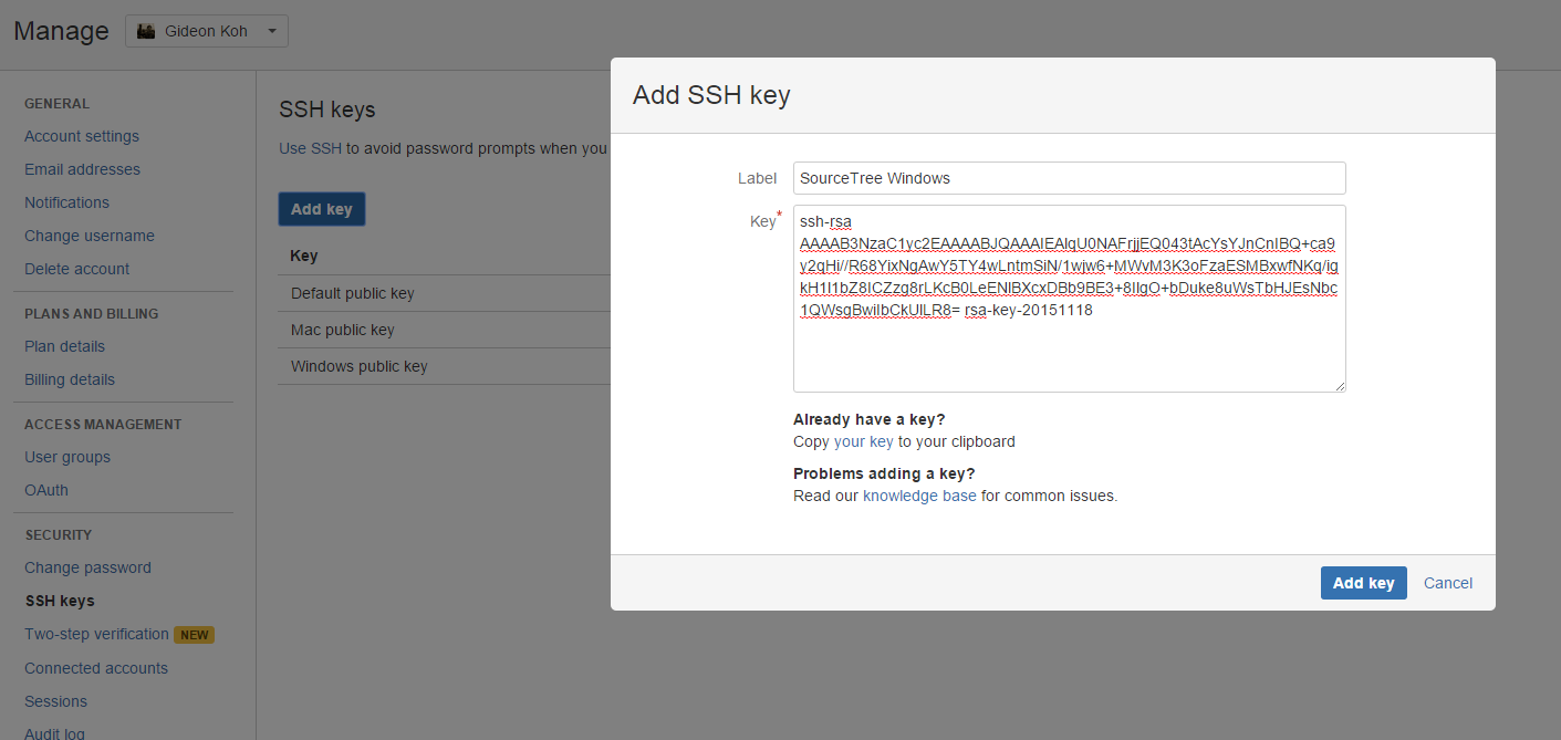 Generate and Load SSH Keys into SourceTree with PuTTY