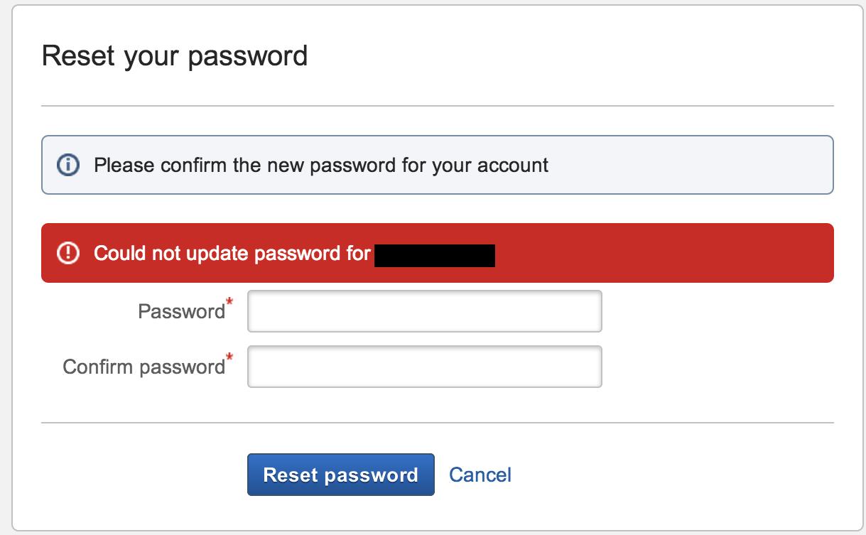 Creating new users fails when Delegated LDAP is configured with