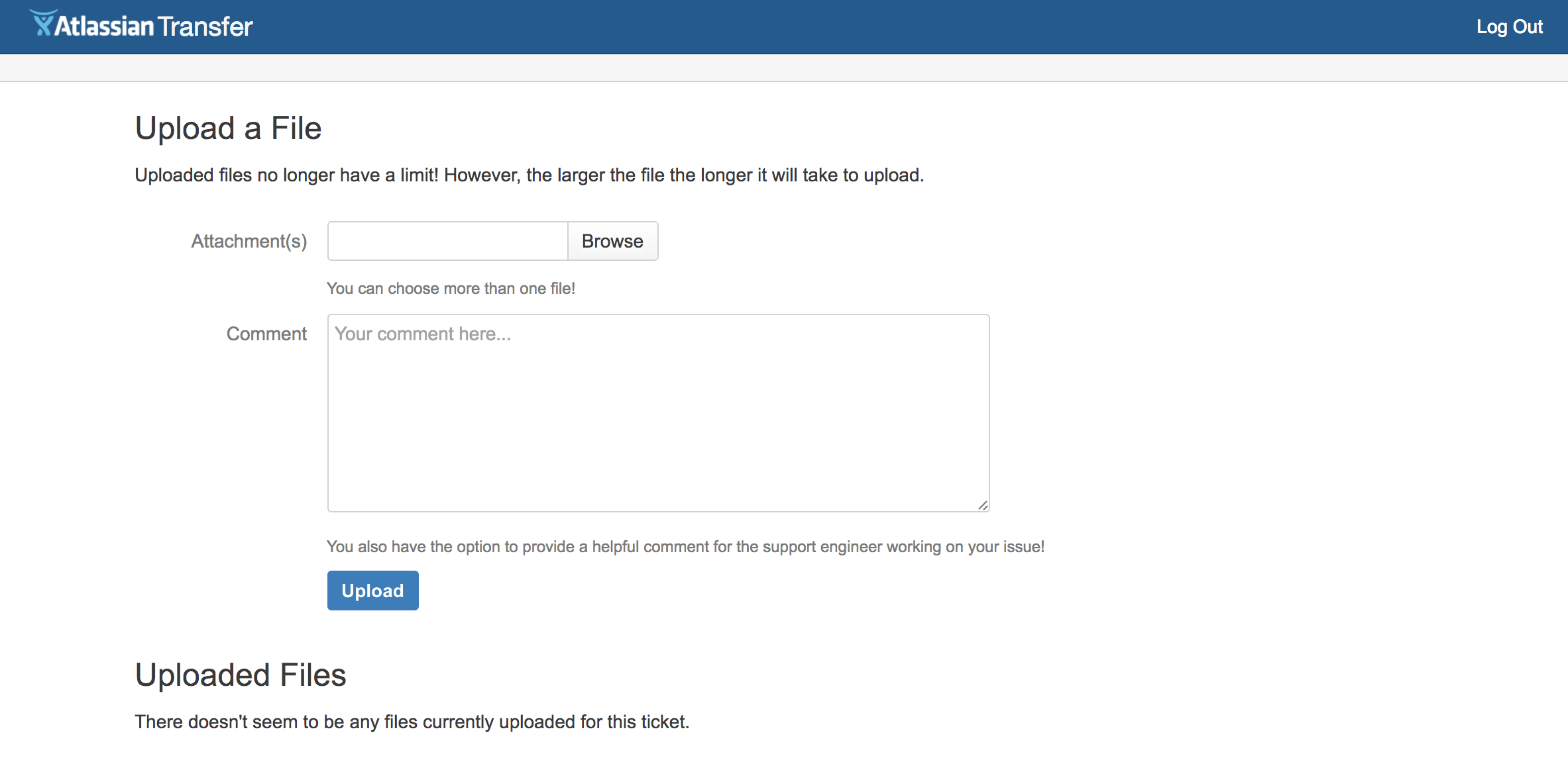 How to Transfer Large Files to Atlassian - Atlassian