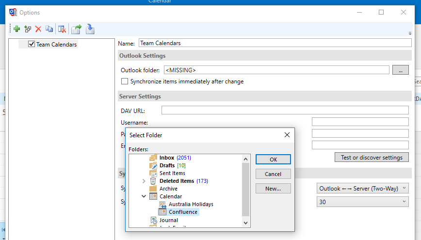 Subscribe to Team Calendars from Microsoft Outlook - Atlassian